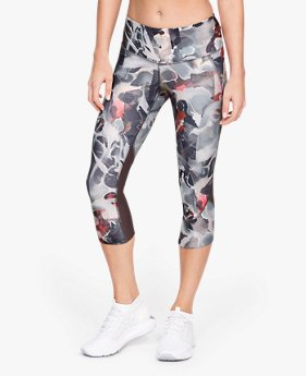 Women's UA Armour Fly Fast Printed Capri